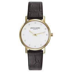 Pierre Cardin - Montre Femme - Quartz - Analogique - Bracelet cuir