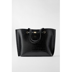 ZARA SHOPPER IMPRIME ANIMAL